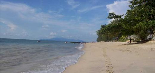 Batu Ferringhi beach à Penang en Malaisie