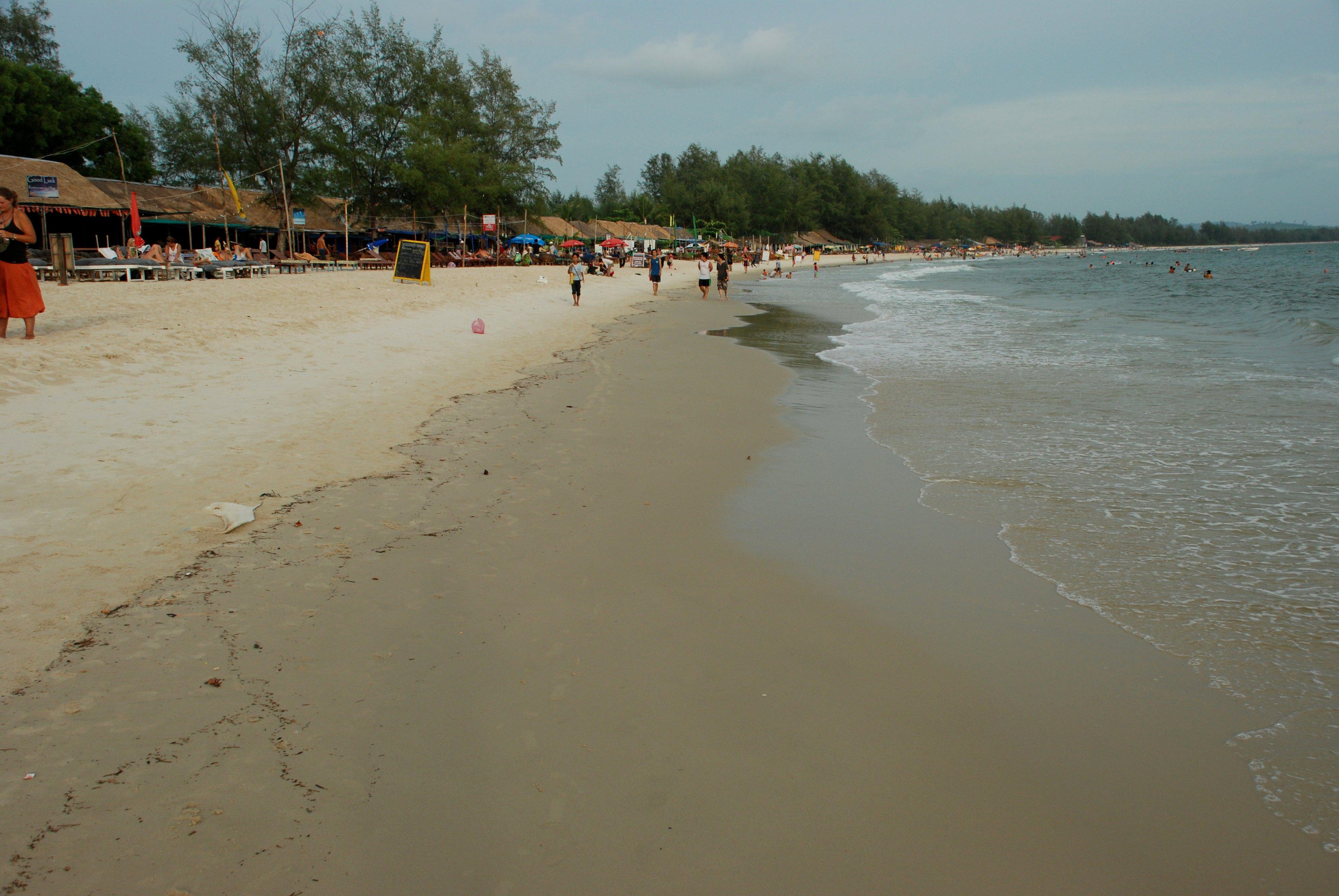 Tour des plages de Sianoukville, Cambodge