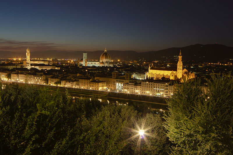 Visite de la Piazza Michelangelo à Florence