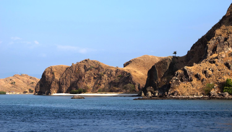 Randonnée sur l'île de Komodo, Indonesie