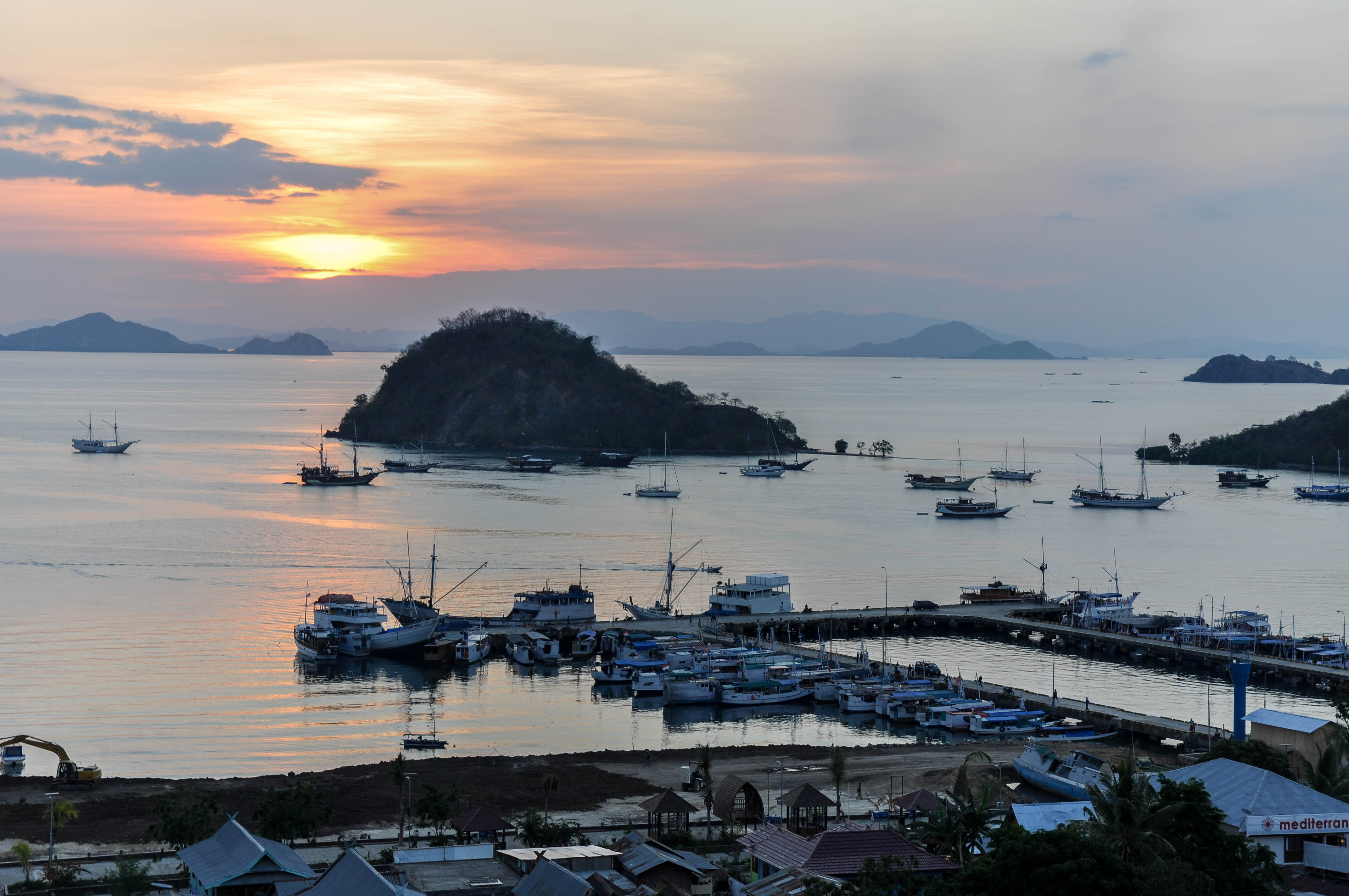 Le village de pêcheurs de Labuan Bajo, Flores Indonesie