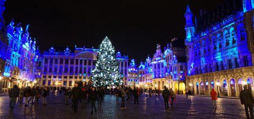 Marché de Noël Bruxelles CC by sa Miguel Discart
