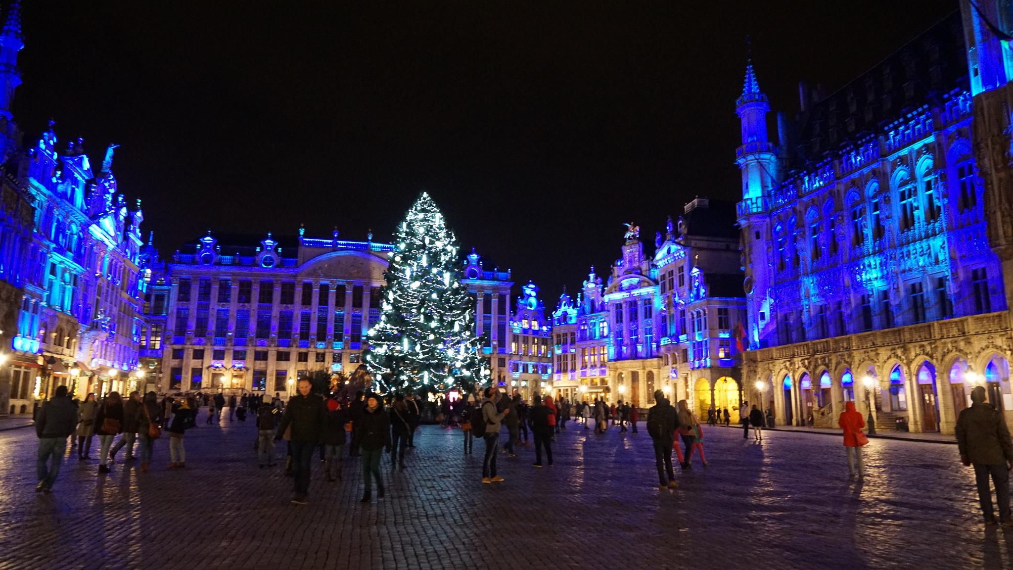 Le marché de Noel de Bruxelles