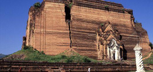 Mingun, excursion sur Ayeyarwady vers la pagode inachevée