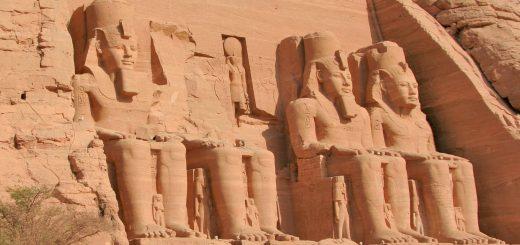 Les temples de Philae et Abu Simbel, Egypte