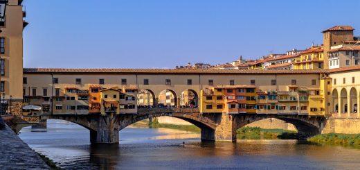 Le Ponte Vecchio de Florence, Italie