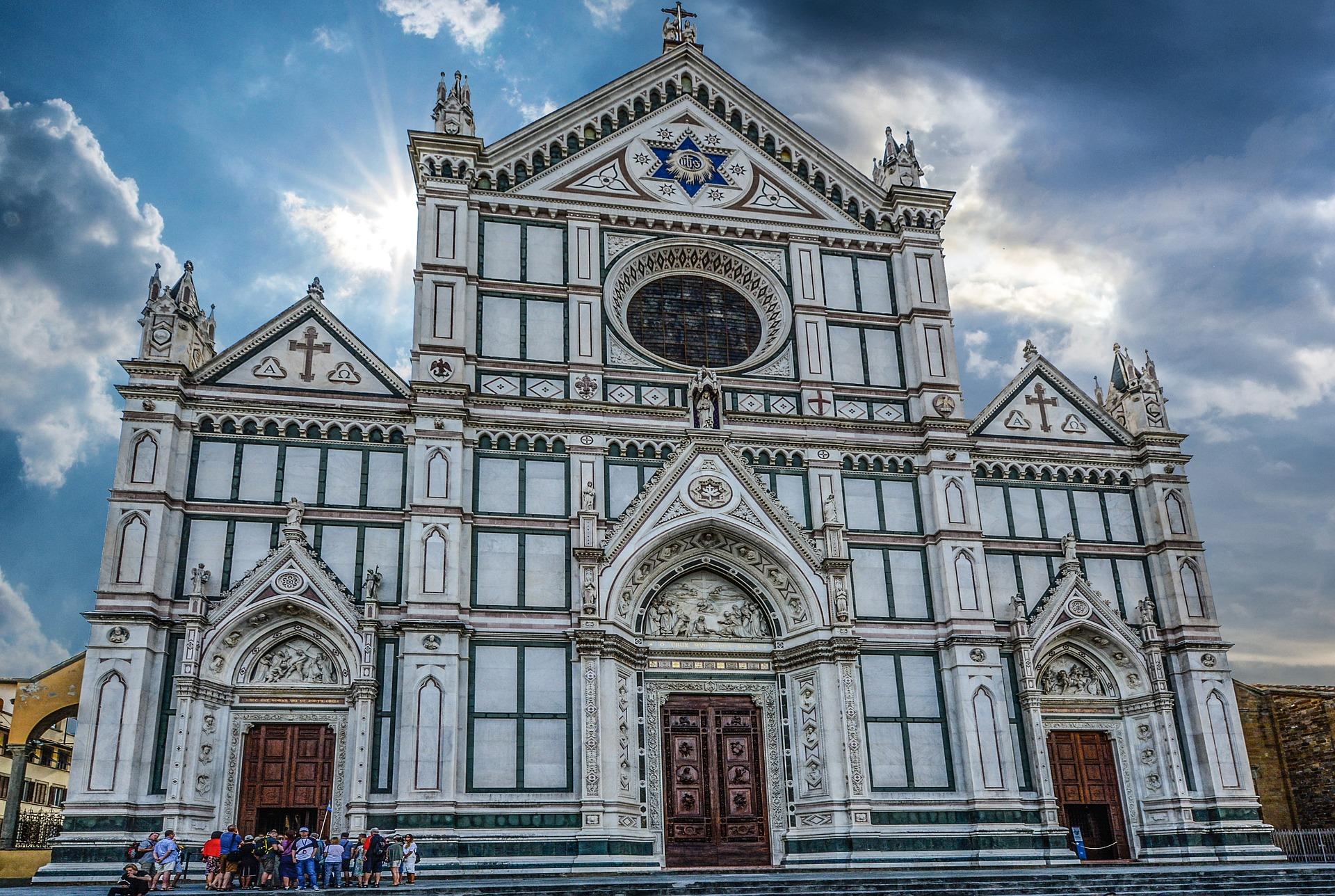 Visite de la basilique de Santa Croce à Florence