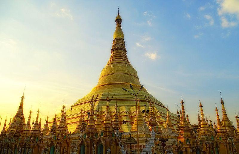 Paya Shwedagon à Yangon carnet du Myanmar