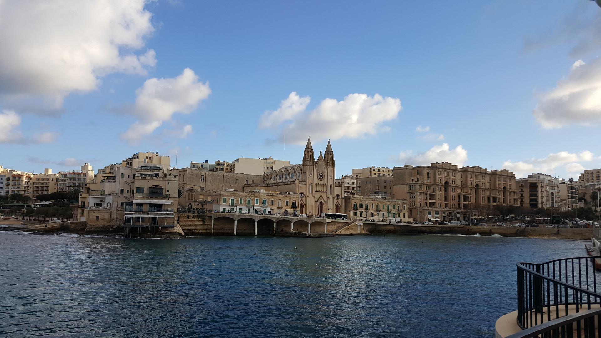 Carnet et photos de voyage à Sliema Malte