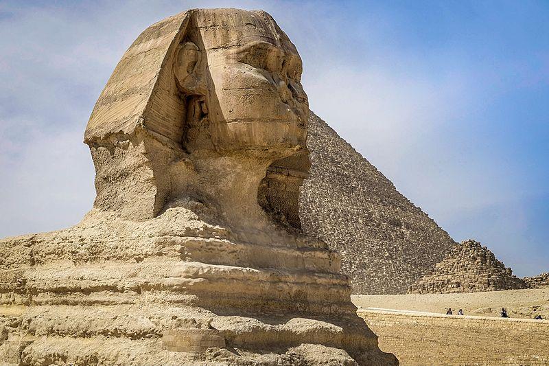 Les pyramides et le Sphynx