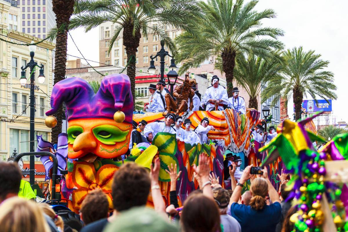 Assister au carnaval de la Nouvelle-Orléans