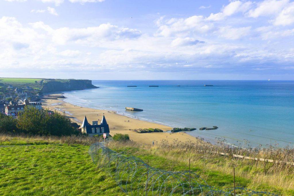 Normandie, plage, histoire